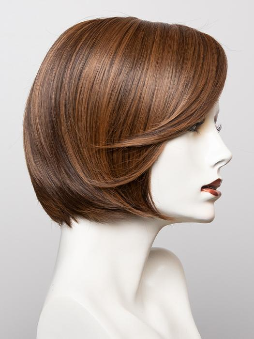 RL5/27 GINGER BROWN | Warm Medium Brown with Ginger Highlight