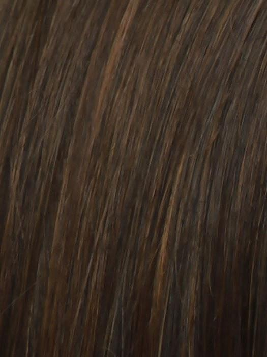 RL6/30 COPPERY MAHOGANY | Medium Brown Evenly Blended with Medium Auburn