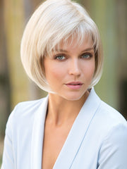 CORY by Noriko in CREAMY BLONDE | Platinum and Light Gold Blonde evenly blended