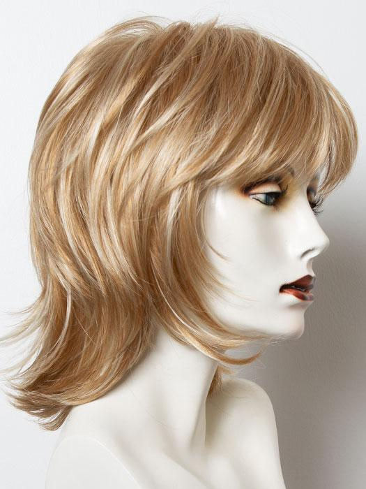 VANILLA-LUSH | Bright Copper and Platinum Blonde evenly blended tipped light