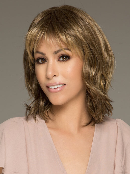 STOP TRAFFIC by RAQUEL WELCH in R29S GLAZED STRAWBERRY | Light Red with Strawberry Blonde Highlights