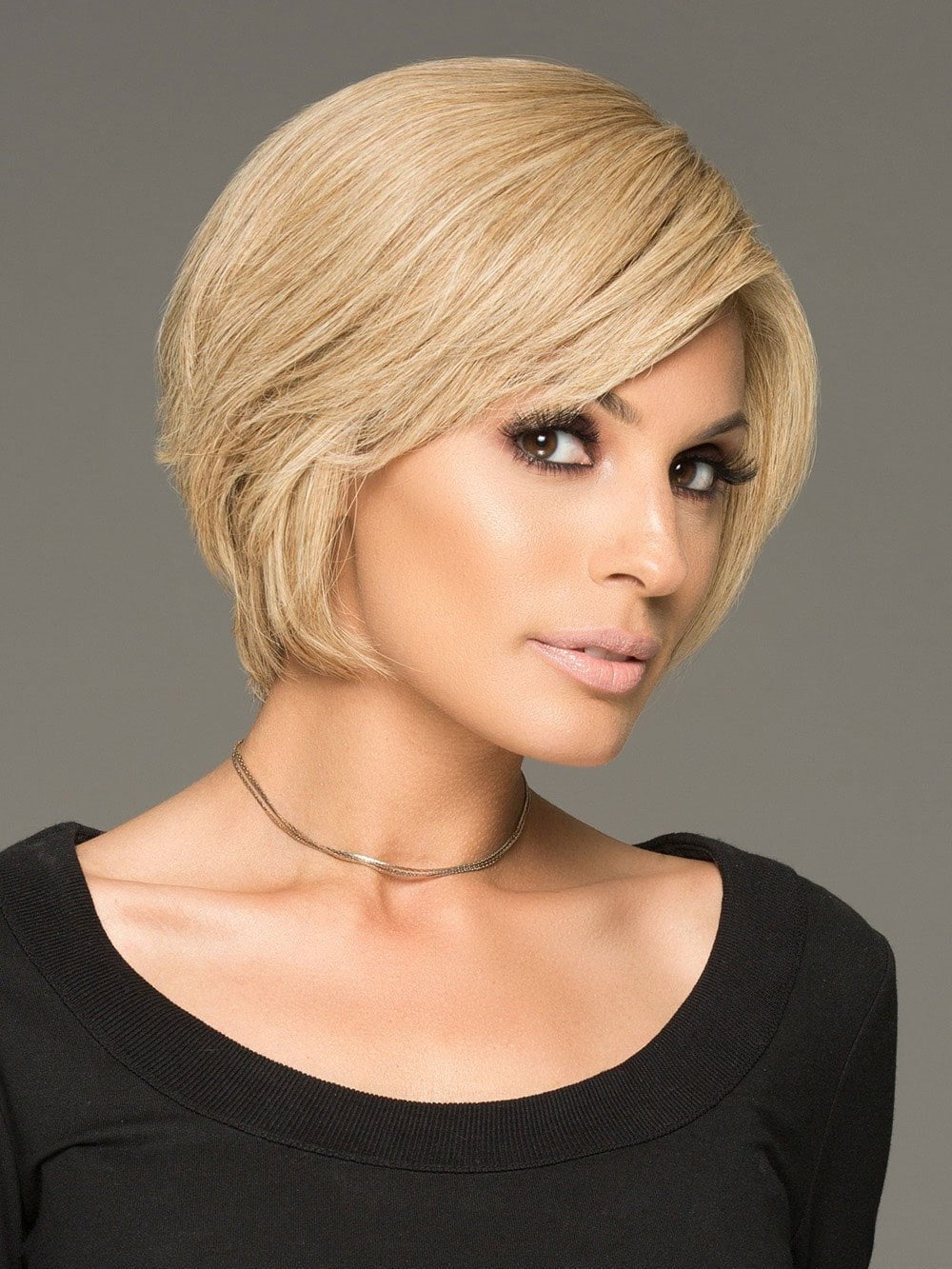 SUCCESS STORY by Raquel Welch in R1621S+ GLAZED SAND | Dark Natural Blonde with Cool Ash Blonde Highlights on Top