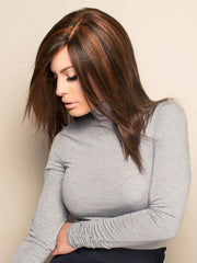 100% Remy Human Hair with Lace Front and Hand-Tied Cap