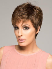 WINNER WIG Raquel Welch in SS11/29 NUTMEG |  Light Reddish Brown and Golden Copper Highlights With Dark Brown Roots