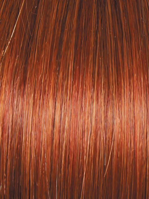 R28S+ GLAZED FIRE | Fiery Red with Bright Red Highlights on Top