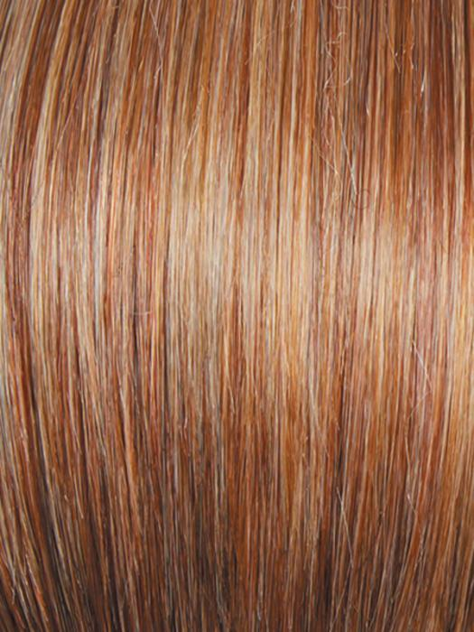 R29S GLAZED STRAWBERRY | Light Red with Strawberry Blonde Highlights