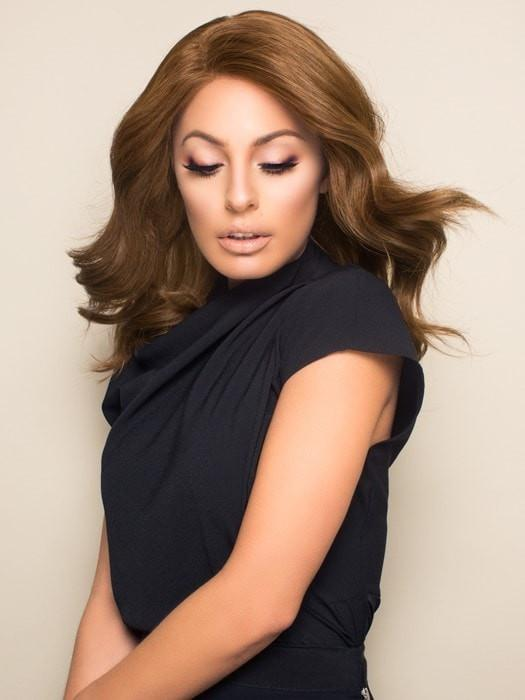 100% Eastern European Remy Human Hair for a soft feel and natural density to look and style like real hair.