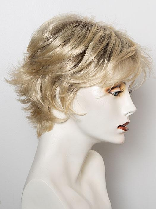 SS613 SHADED PLATINUM | Light Dark Brown with Subtle Warm Highlights Roots