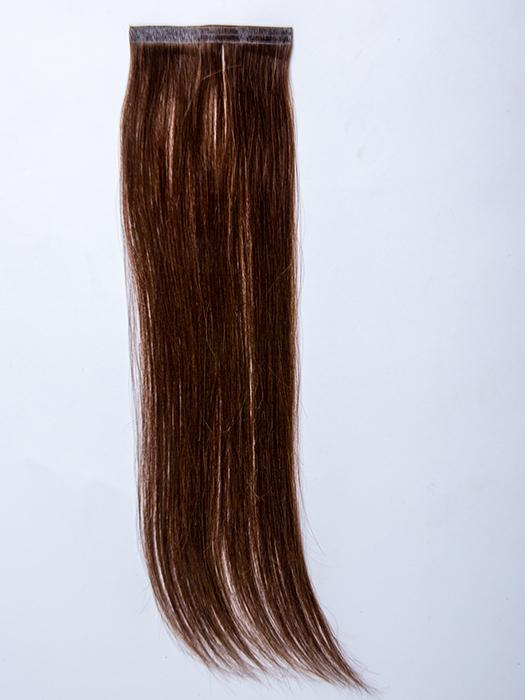 "easiPieces 16"" L x 4"" W by easiHair in color 8 COCOA 