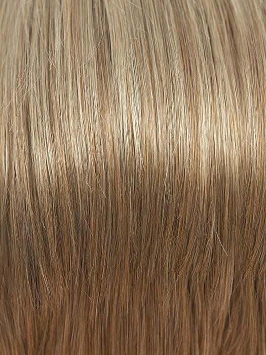 VANILLA-BEAN | Light Honey Brown Base with Light Gold Blonde Highlights