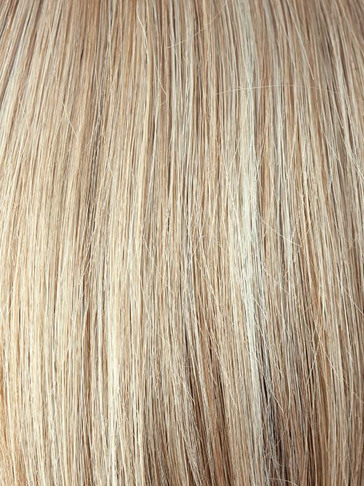 SUGAR-CANE | Platinum Blonde and Strawberry Blonde Evenly Blended Base with Light Auburn Highlights
