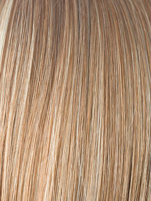 STRAWBERRY-SWIRL | Honey blonde and platinum blonde evenly blended