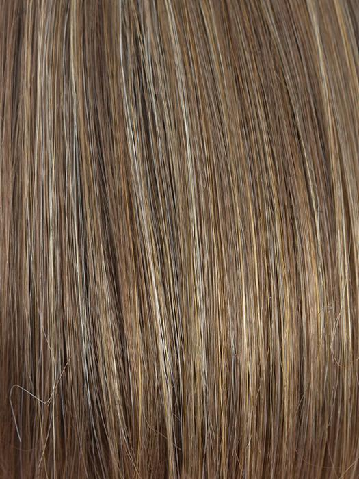 MOCHACCINO | Light brown base with strawberry blonde highlights
