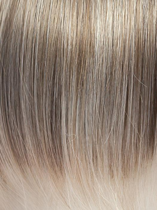 ICE-BLOND | Ashy Blonde base with White Gold tips with highlights around face