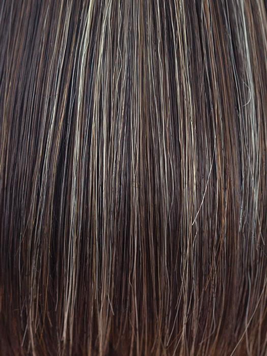 CHOCOLATE-FROST | Dark Brown Base with Honey Blonde and Platinum highlights
