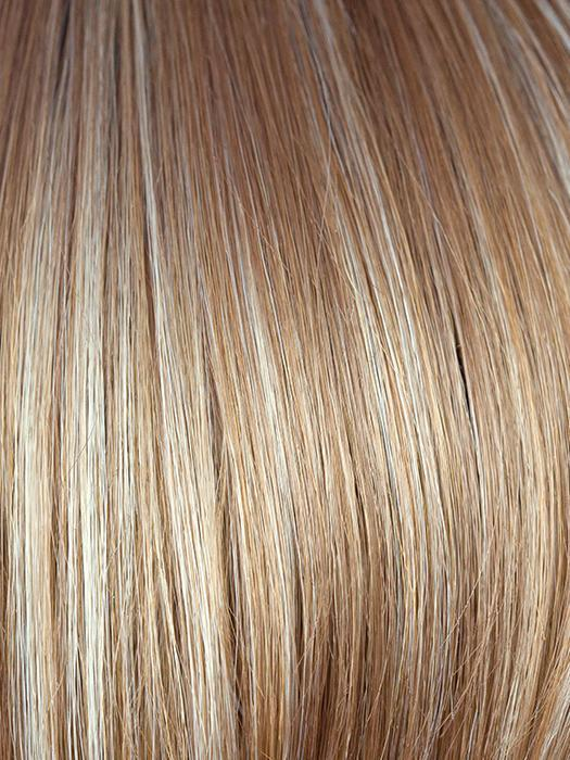 CHAI-CREAM | Honey Brown Base with Platinum Blonde highlights