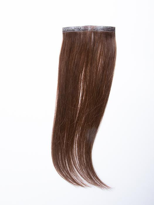 "easiPieces 12"" L x 4"" W by easiHair in color 8 COCOA 