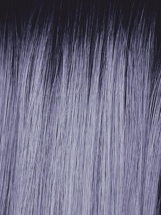 LUNAR-HAZE | Periwinkle Base with Off-Black Roots