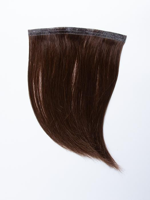 "easiPieces 8"" L x 6"" W by easiHair in color 8 COCOA 