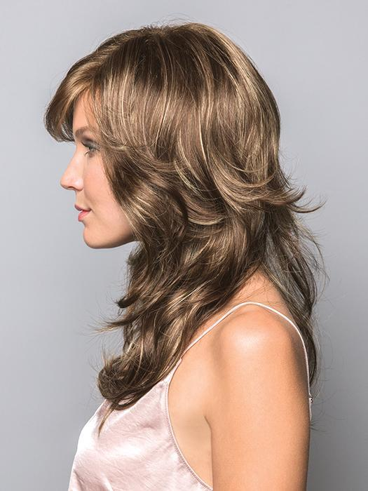 FELICITY by RENE OF PARIS in ICED-MOCHA | Medium Brown blended with Light Blonde highlights