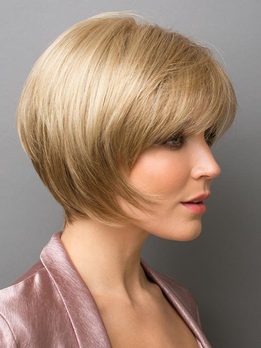 AUDREY by RENE OF PARIS in VANILLA LUSH | Bright Copper and Platinum Blonde even blend tipped light