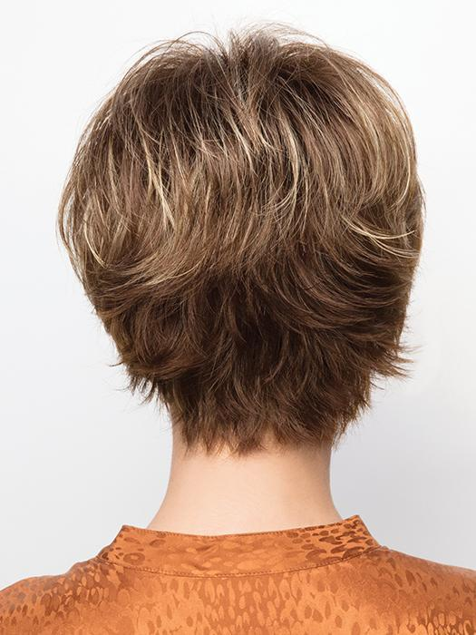 COCO by Rene of Paris in ICED-MOCHA | Medium Brown blended with Light Blonde highlights