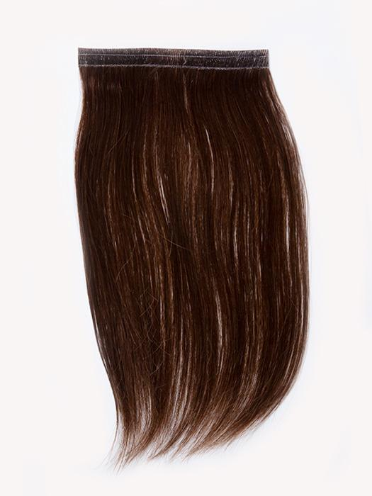 "easiPieces 8"" L x 4"" W by easiHair in color 8 COCOA 