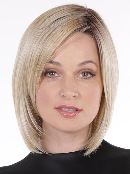 A relaxed bob that is the perfect style with a lace front and lace part for that natural hairline