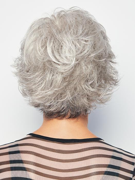 VOLTAGE by RAQUEL WELCH in RL51/61 ICED GRANITA | Lightest Grey Progresses to a Deep Grey at the Nape