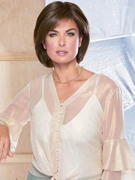 UPSTAGE by RAQUEL WELCH in RL8/12SS | SHADED ICED MOCHA