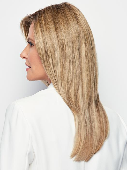 TOP BILLING by RAQUEL WELCH in RL10/22SS SHADED ICED CAPPUCCINO | Light Brown shaded with Medium Blonde