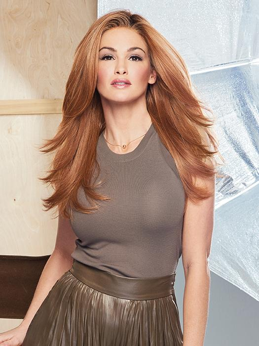 SCENE STEALER by RAQUEL WELCH in RL29/33SS | ICED PUMPKIN SPICE