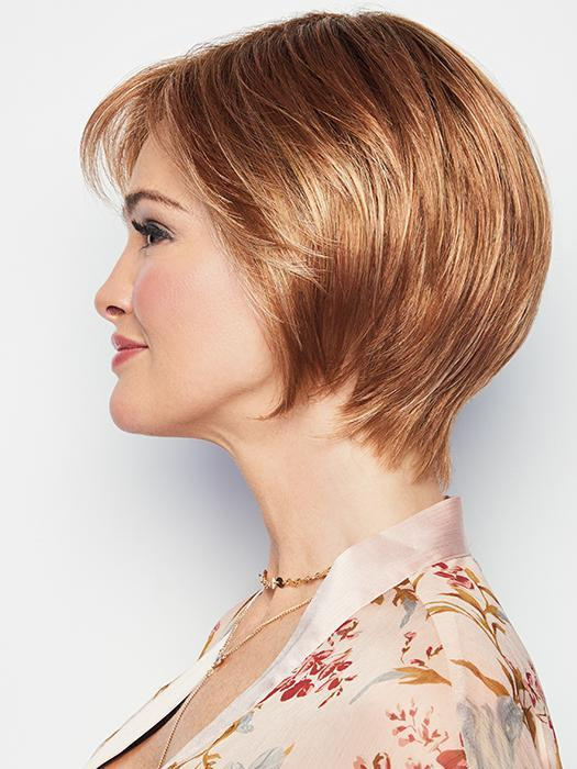 MUSE by RAQUEL WELCH in SS29/33 ICED PUMPKIN SPICE | Strawberry Blonde shaded with Dark Red-Brown