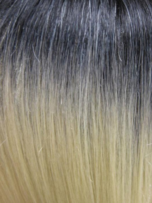 STT1B/88 | Two Toned Light Blonde with Off Black Roots