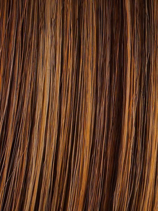 R3025S+ GLAZED CINNAMON | Medium Reddish Brown with Ginger highlights