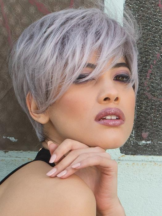 JETT by ESTETICA in LILAC HAZE | Gray & White Blended with Lilac