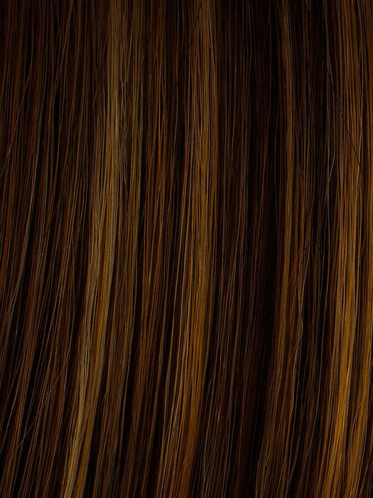R829S+ GLAZED HAZELNUT | Medium Brown with Ginger highlights