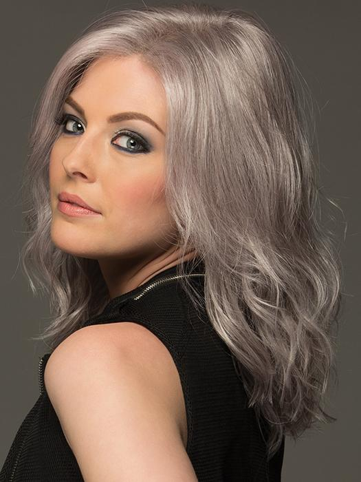 AVALON by ESTETICA in LILAC-HAZE | Gray and White Blended with Lilac