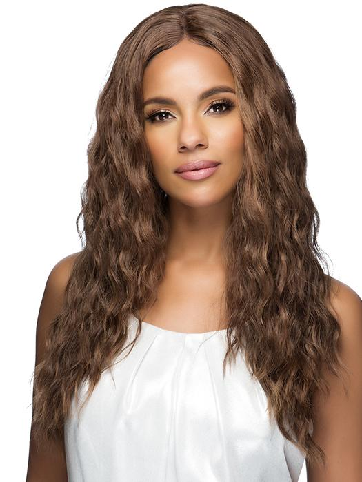 TESSA by Vivica Fox in P4/27/30 | Medium Dark Brown, Honey Blonde, and Copper Blonde Mixed