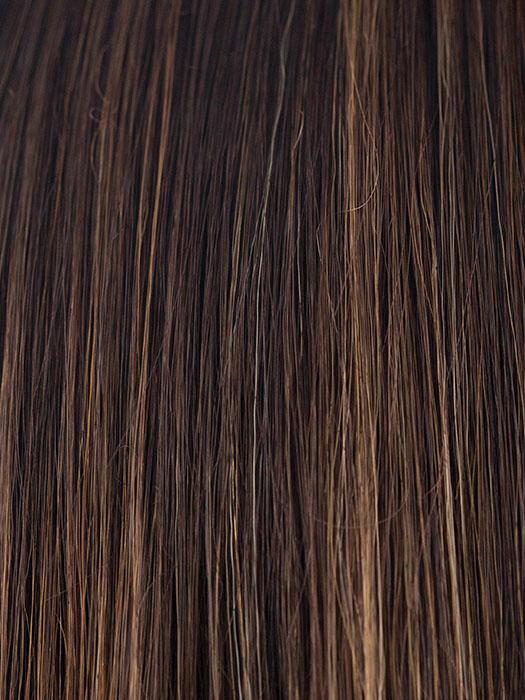 COFFEE-LATTE | Dark Brown and Honey Brown evenly blended highlights
