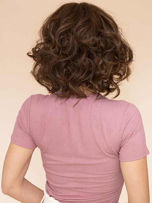 TOUSLED BOB by HAIRDO in R10 CHESTNUT | Rich Dark Brown with Coffee Brown highlights all over