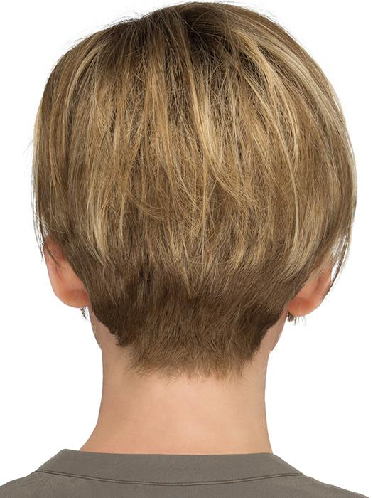 RMH12/26RT4 | Light Brown with chunky Golden Blonde highlights and Dark Brown roots