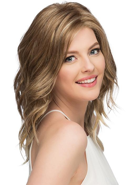 Below the Shoulder Cut with Loose Waves