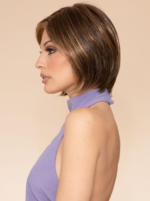 CLASSIC COOL by RAQUEL WELCH in R829S+ GLAZED HAZELNUT | Rich Medium with Ginger Highlights on Top