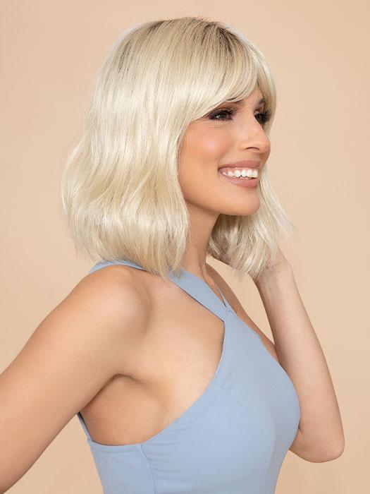 ALEXI by NORIKO in CHAMPAGNE-R | Rooted Dark with Platinum Blonde