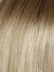 SS14/88 SHADED GOLDEN WHEAT | Dark Blonde Evenly Blended with Pale Blonde Highlights and Dark Roots