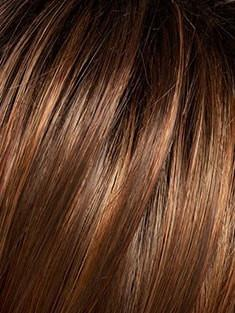SS30/28 SHADED SPICE | Rich Copper Brown with subtle Red highlights, Dark Brown roots