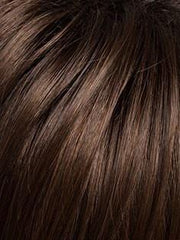 SS4/6 EXPRESSO | Dark Brown Evenly Blended with  Medium Brown and Dark Roots