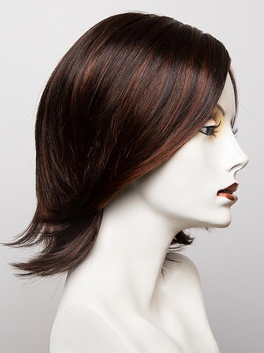 SS4/33 SHADED EGGPLANT | Dark Dark Brown with Subtle Warm Highlights Roots