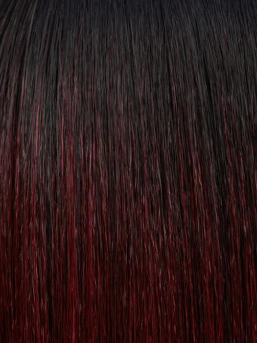 STT1B/99J | Two Tone Dark Burgundy Wine with Off Black Roots